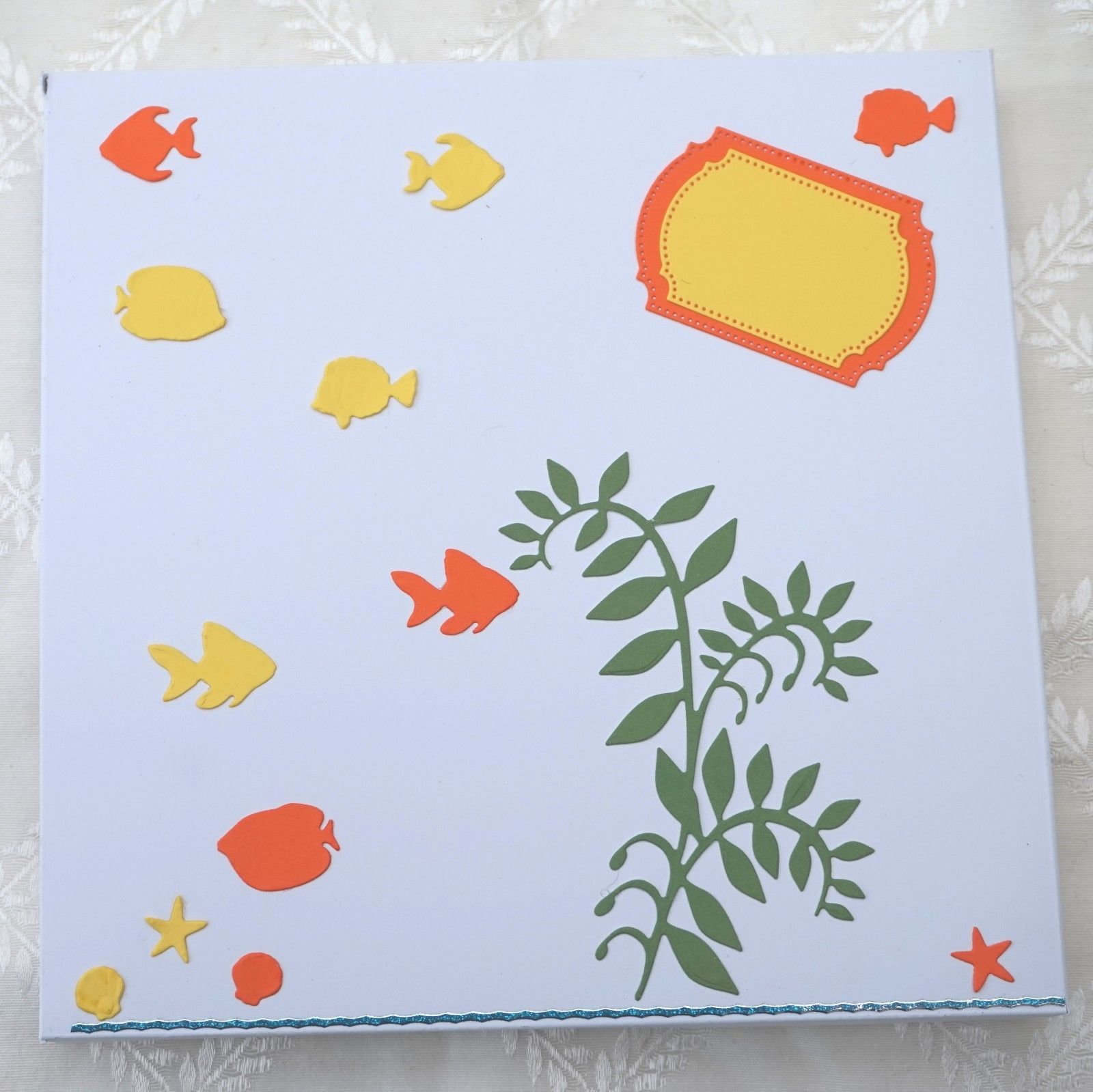 PERSONALISED BIRTHDAY CARD WITH CHOCOLATE FISH 3D MAGNETIC CRAB – Fish Birthday Cards